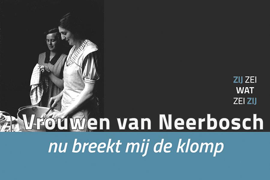 Beeld voor de tentoonstelling Vrouwen van Neerbosch, Nijmegen
